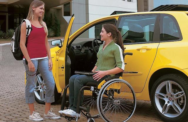 Deficientes físicos em Veneza