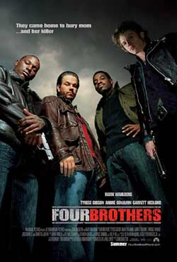 Four Brothers 2005 Hindi Dubbed 300MB BluRay 480p at movies500.info