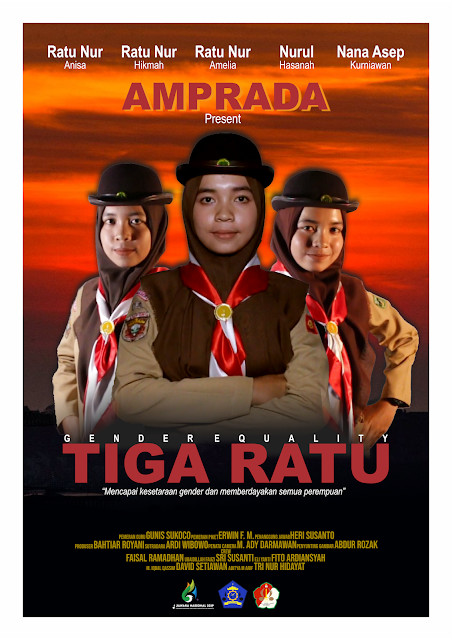 Poster Film Pendek Pramuka Tiga Ratu Amprada SMK Yasmida Ambarawa