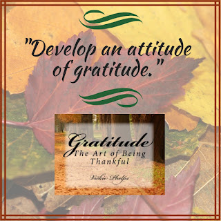 "Notable Quotable Graphic: ""Develop an attitude of gratitude."""