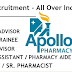 Apollo Job Openings 2021 Various posts apply now