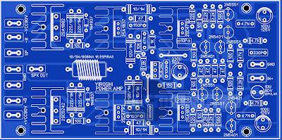PCB Layout Yiroshi  Driver Power Untuk Lapangan