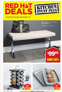 Kitchen stuff plus Ontario flyer November 6 - 12, 2017