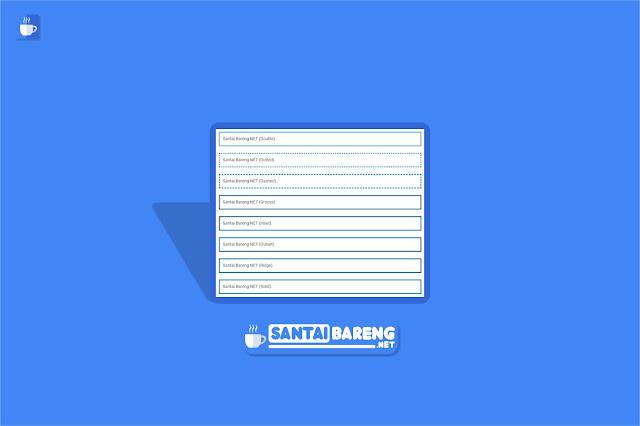 Cara Membuat Kotak Script (Bingkai) di Dalam Postingan Blog