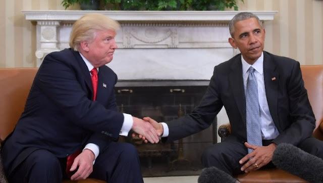 Trump Kick Barrack Obama dari Grub WhatsApp