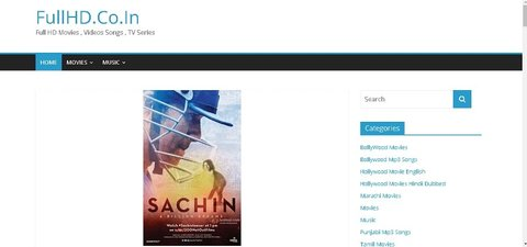 latest Bollywood movies website Fullhd.co.in