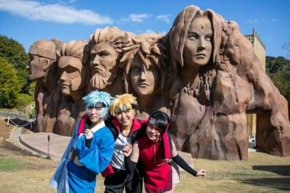 Nijigen no Mori Theme Park Desa Konoha di Dunia Nyata