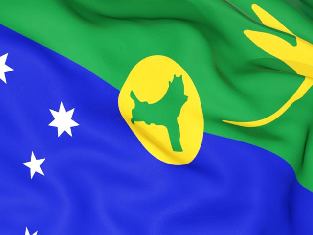 Graafix!: Flag of Christams Island flags