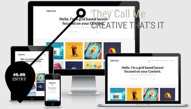 Creative Clean & Responsive Blogger Template