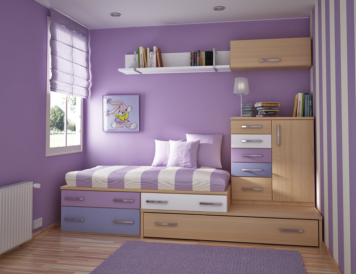 Small Room Decorating: Http://www.kickrs.com/modern-small-kids-rooms-space-saving