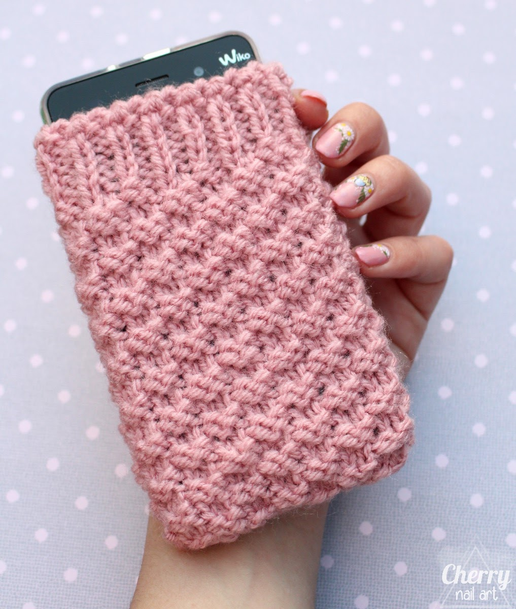 tricoter housse portable