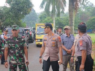 Cegah Bencana Alam, Kapolres Bersama Dandim 0622 Sukabumi Pimpin Operasi Tambang Ilegal Di Kecamatan Simpenan