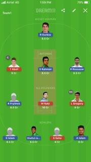 Khulna vs Rangpur 3rd Dream 11 Prediction, Captain and Vice Captain
