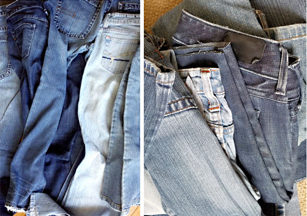 how to upcycle jeans