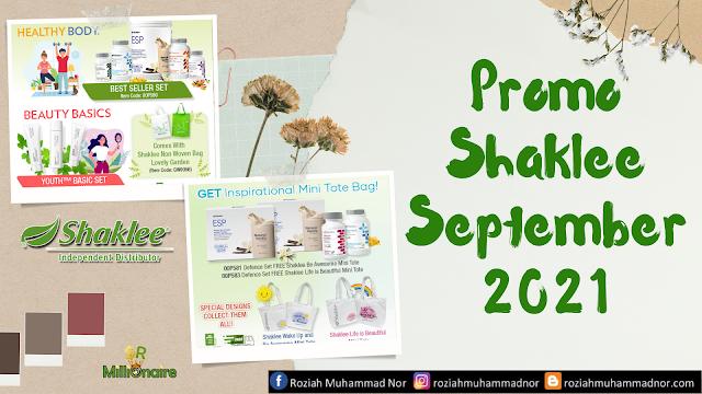 Promosi Shaklee September 2021