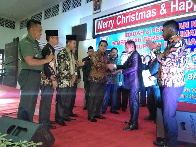 Pemkab Banyuasin gelar Perayaan Natal Tahun 2019