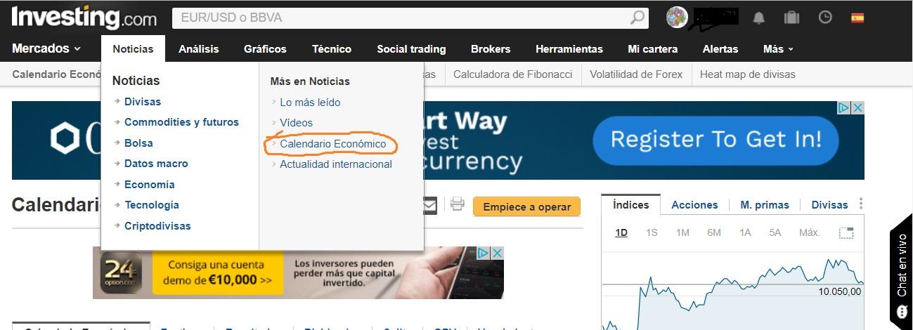 Investingcom Calendario Economico.Vivir Del Forex News Calendario Economico Forex Investing