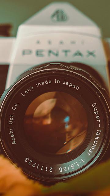 Câmera Fotografica Pentax Antiga