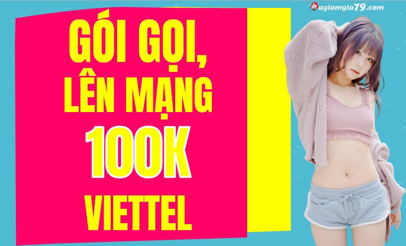 Đăng ký gói gọi 100k viettel