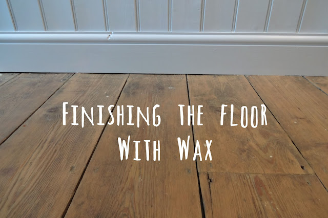 Finishing the Floor with Floor Wax