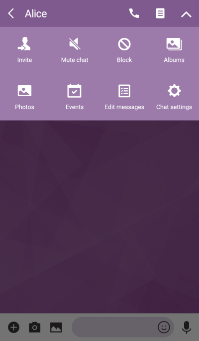 My theme color is Purple.