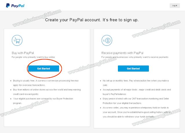Hướng dẫn đăng ký verify Paypal bằng thẻ Visa Prepaid năm 2018-2019