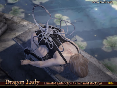 https://marketplace.secondlife.com/p/Skifija-Dragon-Lady-animated-GarterClipsChainMail-stockings/17932497