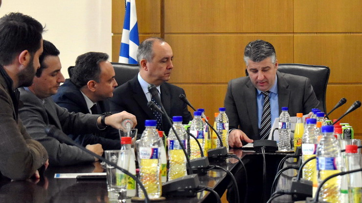 Περιοδεία του Υφυπουργού Μακεδονίας - Θράκης Θεόδωρου Καράογλου στον Έβρο