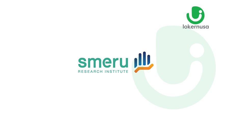 Lowongan Kerja SMERU Research Institute