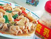 chicken stir-fry with fermented beancurd