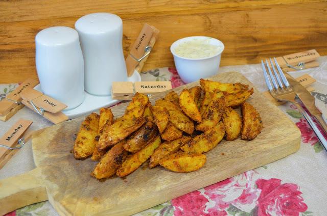 Las delicias de Mayte, recetas saludables, patatas deluxe, patatas deluxe al horno, recetas, receta, patatas deluxe caseras, patatas deluxe receta, recetas de cocina, patatas deluxe mcdonalds, patatas deluxe burger king,