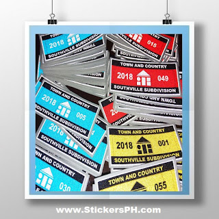 Reflective Subdivision Stickers