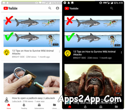 YouTube APK v15.05.54 Final [Ad-Free & BG Play] No Root + Black Theme [Latest]