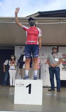 Mireia Benito fue la más combativa en la 4ª etapa del Tour d'Ardeche