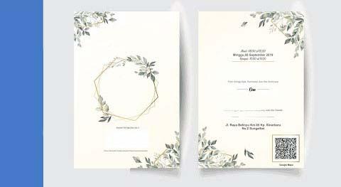 Cara Membuat Undangan Pernikahan Simple Elegan Dengan Word