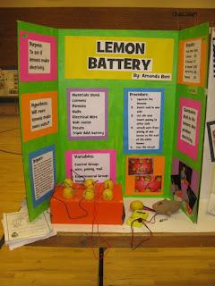 Pameran siswa : Lemon Battery