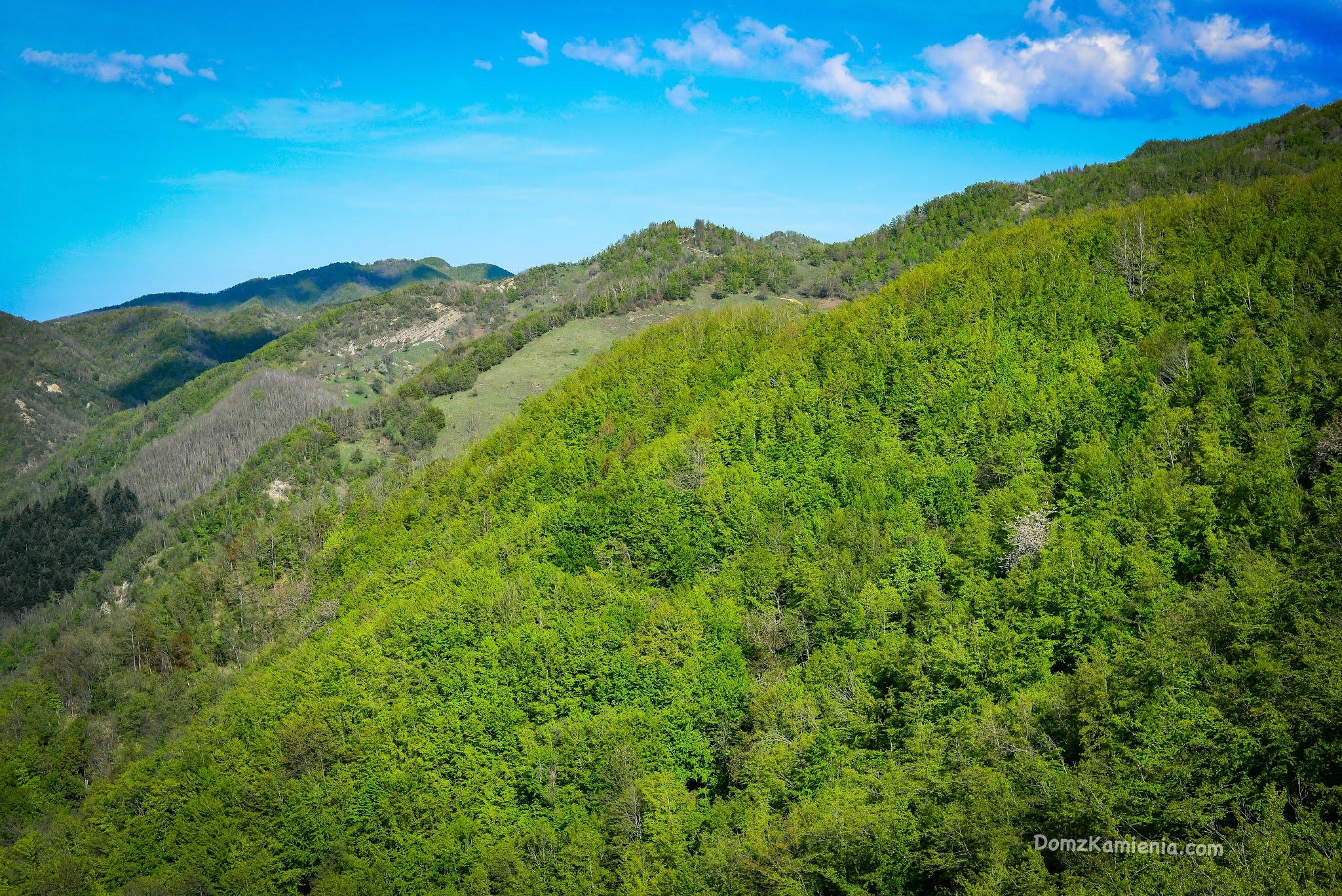 Trekking Toskania, monte Lavane, Marradi, blog Dom z Kamienia