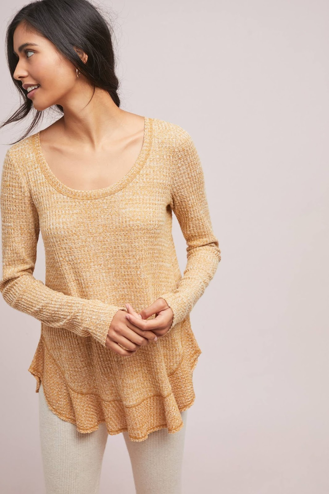 The Anthropologie cozy favorites promo and other promos to shop this weekend :: Effortlessly with Roxy