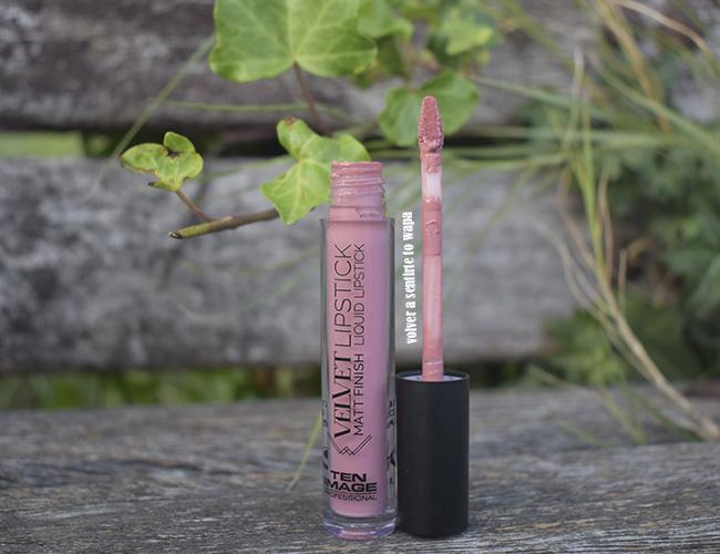 Velvet Lipstick Matt Finish Liquid Lipstick - tono 13 Cherry Blossom