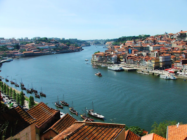 Rio Douro em Porto