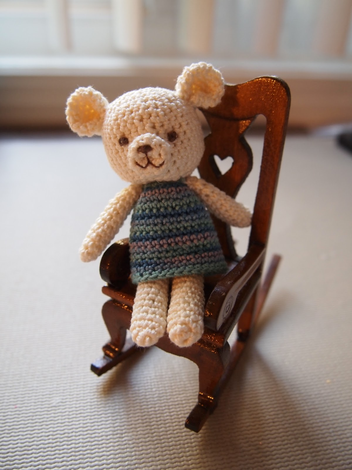 Crafter S Delights My First Mini Teddy Bear