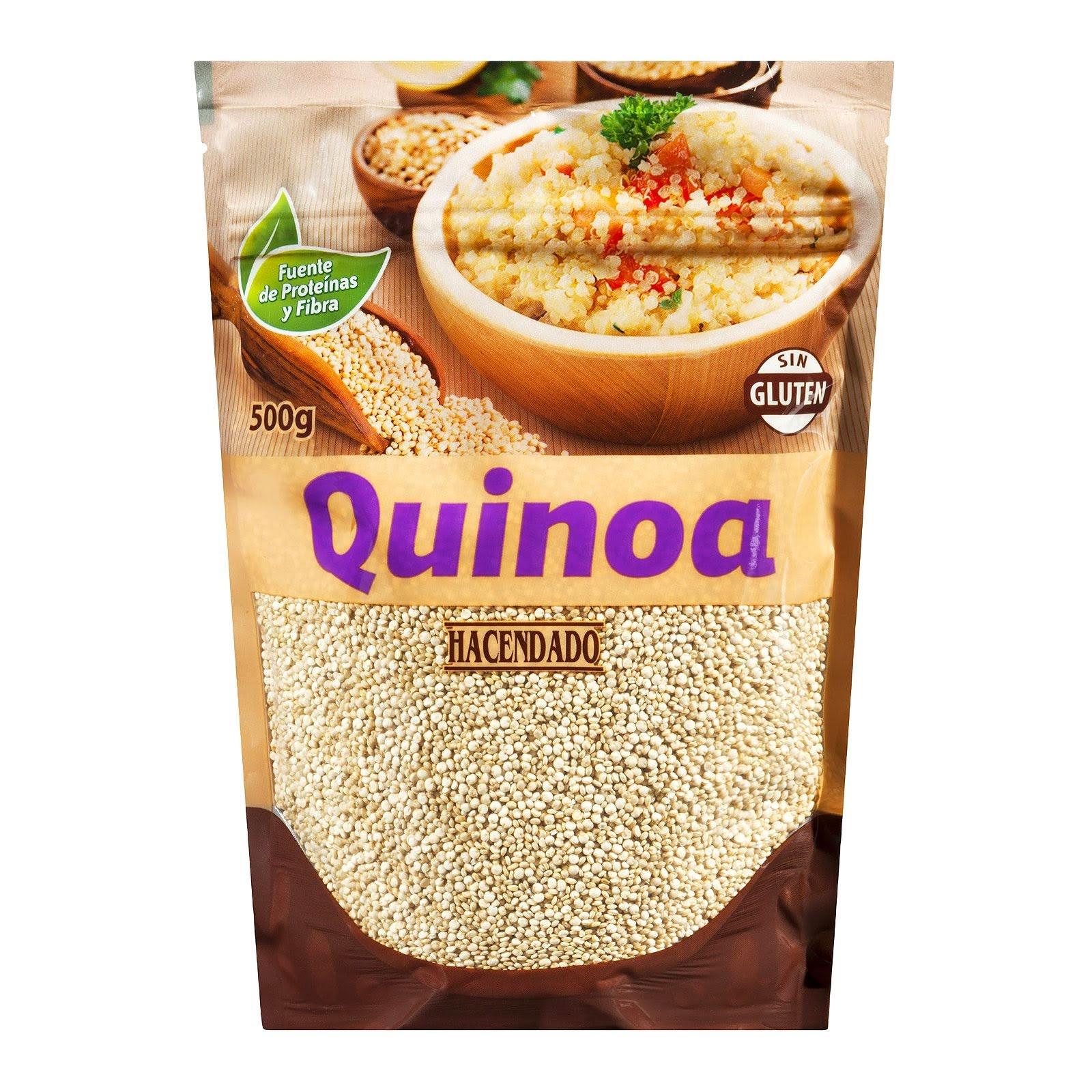 Quinoa en grano Hacendado