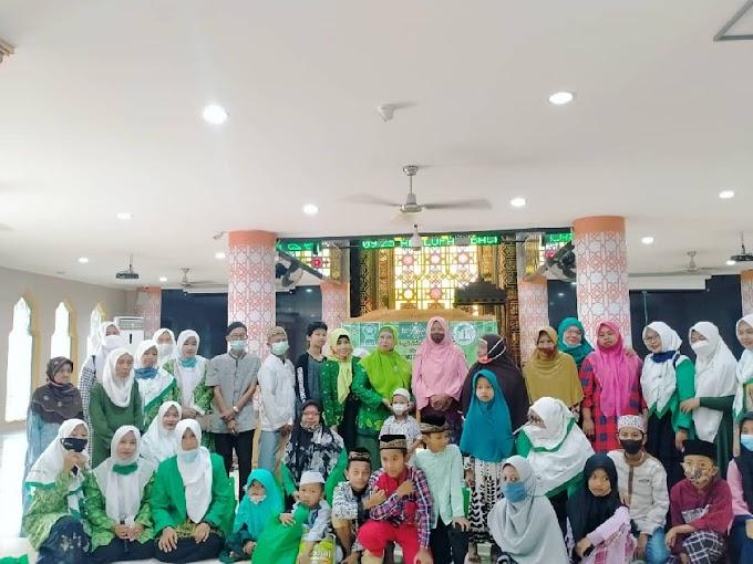 Berbagi Berkah Rezeki Melimpah, Fatayat NU Prov. Bali Gandeng Pergunu Bali Di Penghujung Ramadhan