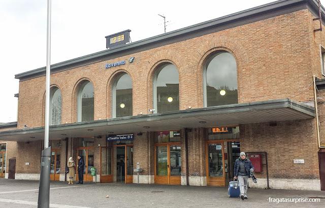 Estação Ferroviária de Ravena, Itália