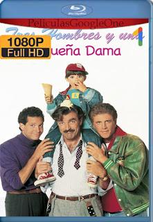 Tres hombres y una pequeña dama (1990) [1080p BRrip] [Latino-Inglés] [LaPipiotaHD]