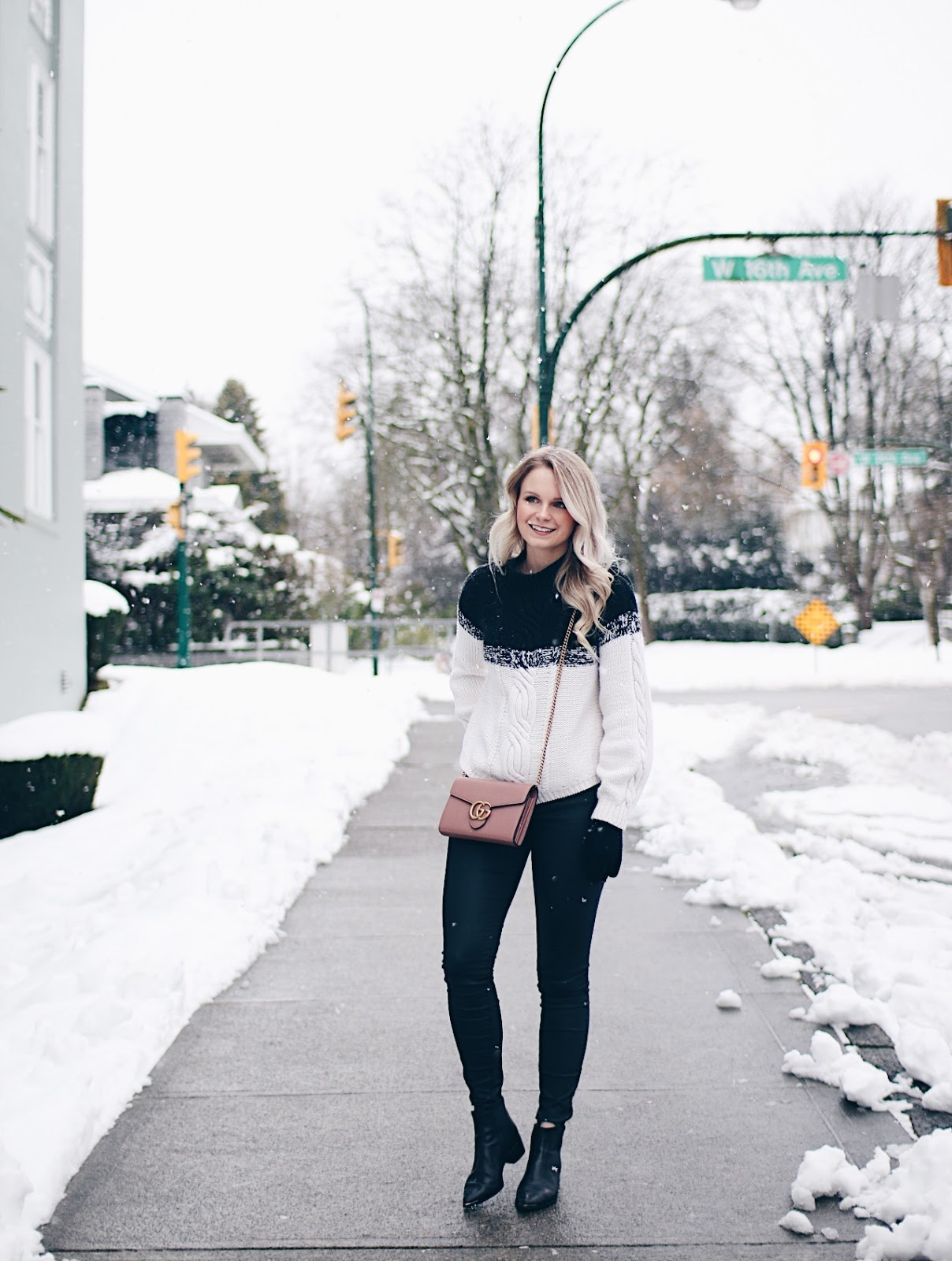 Vancouver winter outfit