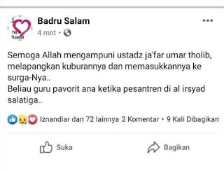 Ustadz Ja'far bin Umar Thalib