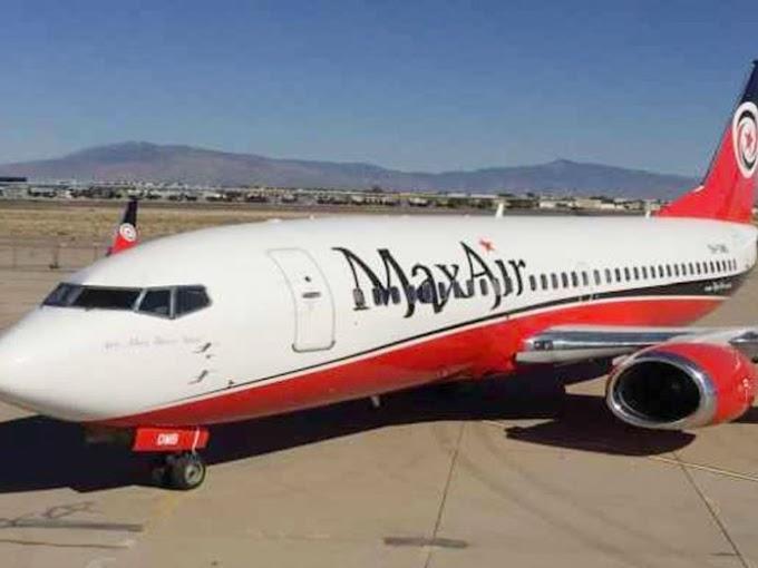 NEWS : Kano Emir, 139 Others Escape Death as Max Air Flight Experiences Engine Failure
