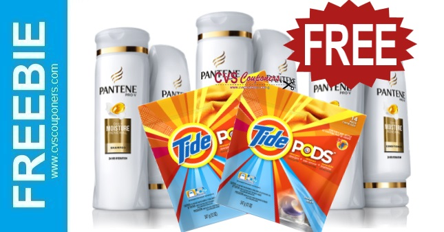 FREE Tide & Pantene CVS Deals 7-5-7-11