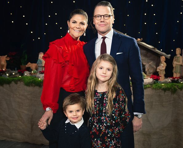 Princess estelle. Crown Princess Victoria wore H&M silk chiffon blouse, Cravingfor Jewellery baroque pearl earrings